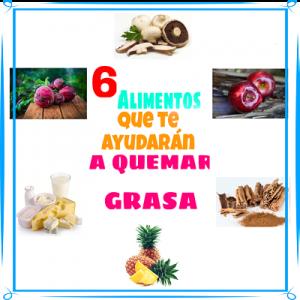 6 alimentos...grasa