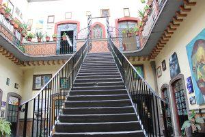 Barrio Artista Casa escaleras