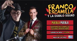 Franco Escamilla en Puebla